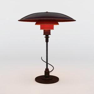 3d louis poulsen ph table lamp
