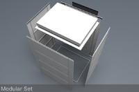 nas battery modular set c4d