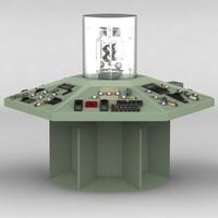3d tardis console model