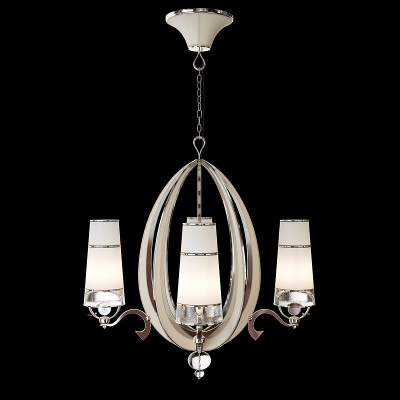 3d chandelier art edge