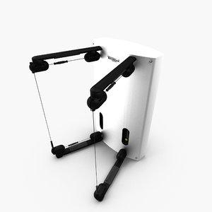 3d model kinesis gym