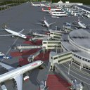 Airport Terminal 3D models