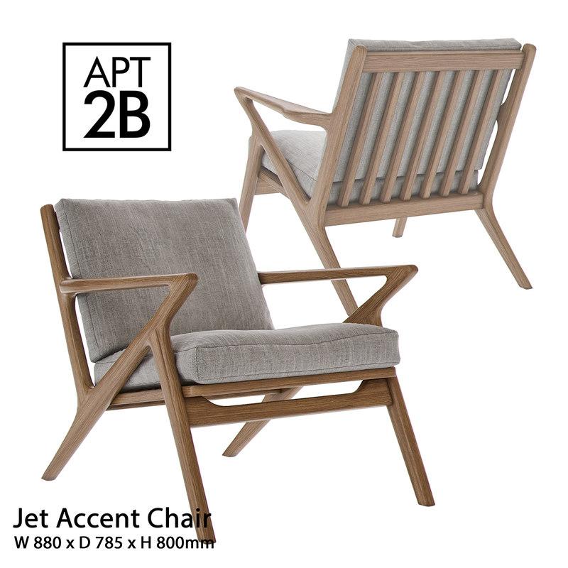 3d apt2b - jet accent model