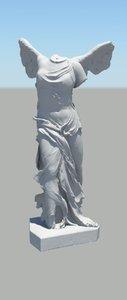 3d roman figure 05 model