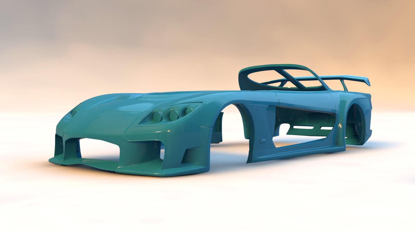 3d fortune body kit printable