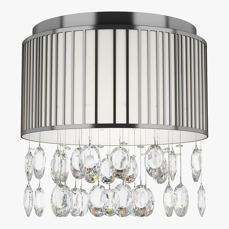 3d model of chandelier 745094 cappe lightstar