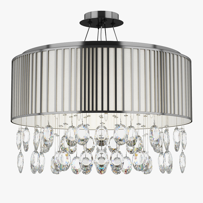 3d model chandelier 745124 cappe lightstar