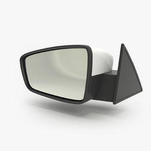 view mirror 3d model