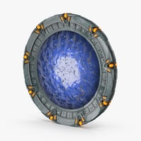 3d stargate portal