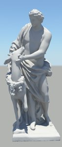 roman figure 06 3d fbx