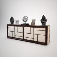 baxter maxime cabinet 3d 3ds