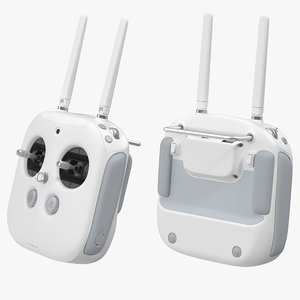 dji phantom radio controller 3d model