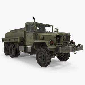 3d army fuel tank truck model