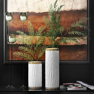 3d model decorative vase 8