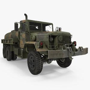 3d model fuel tank truck m49
