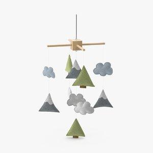 3d mobile toy model