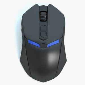 gaming mouse obj