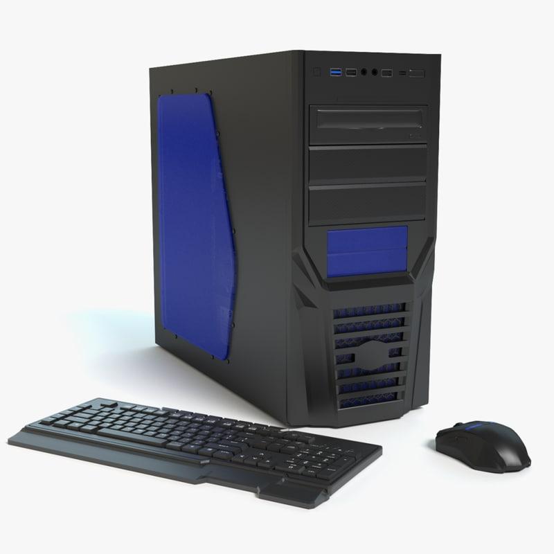 3d gaming computer keyboard