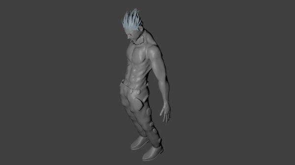 free obj model anime characters