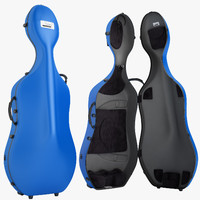 3d model bam cello case