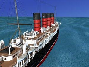 3ds lusitania rms