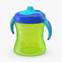 3d max sippy cup