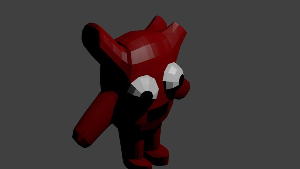 3d dummy heart model