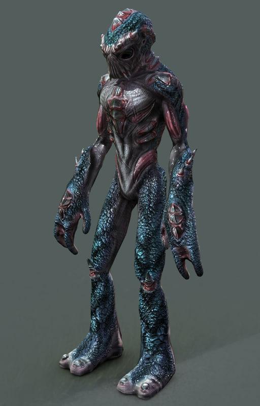 alien fantasy sci obj