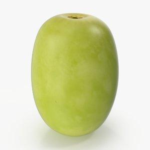 green grape 3d x