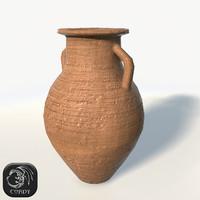 3d realistic vase model