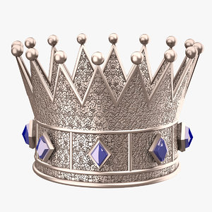 crown prince silver 3d max