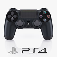 3d 3ds sony playstation 4 controller