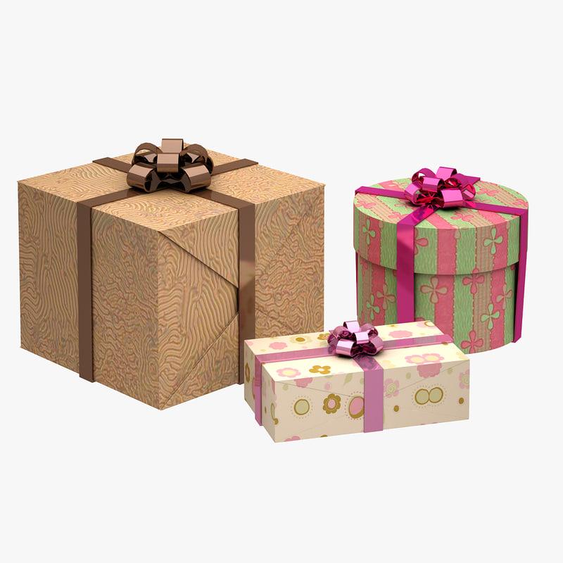obj gift boxes