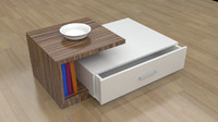 213 quatro coffee table 3d model