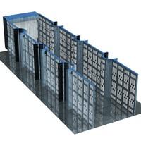 scene walls 3d model