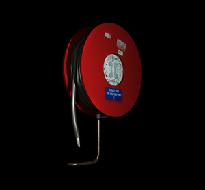 3d hose reel model