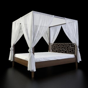 bed canopy max