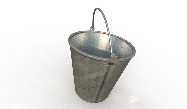 fbx 4k pbr bucket