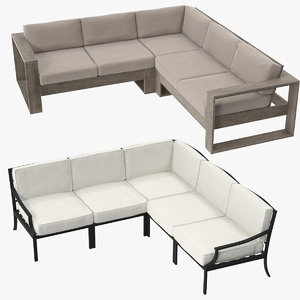3d max patio sectional