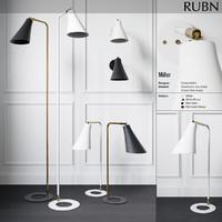 3d model miller lightings rubn -