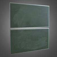 ma chalk board - pbr