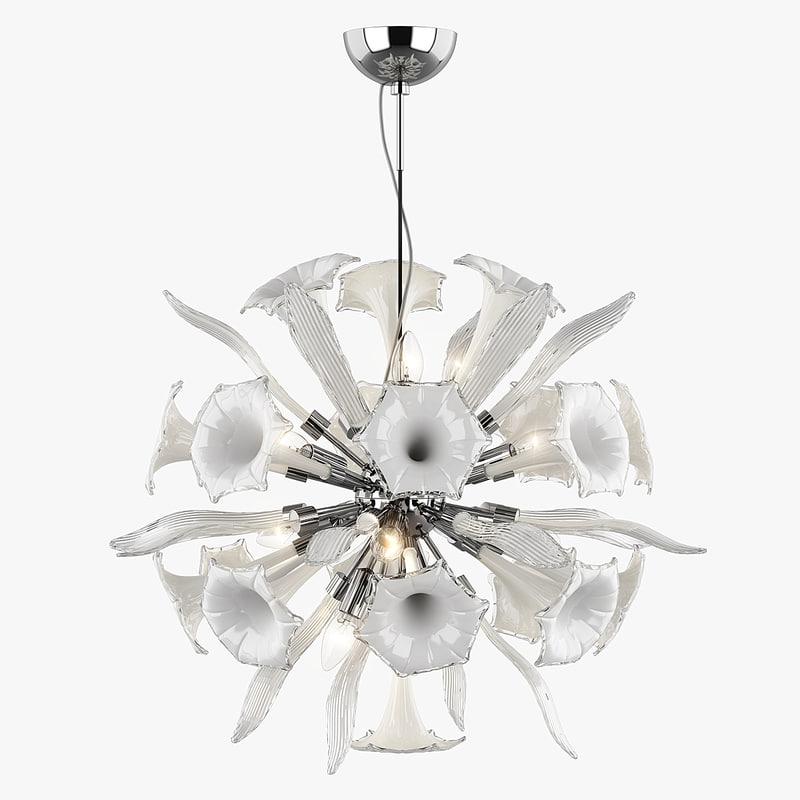 chandelier 822120 ciglio lightstar 3d model
