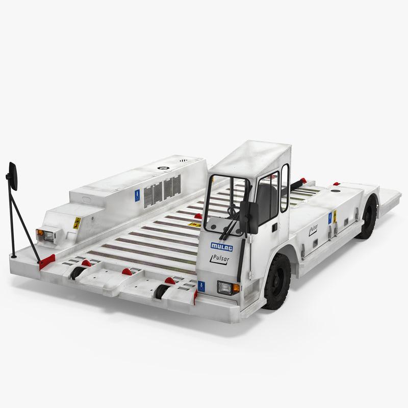 container pallet transporter pulsar 3d 3ds