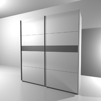 wardrobe 3d obj