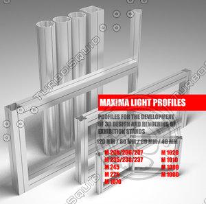 3d maxima light model