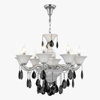 3d model chandelier 881080 md89189-8 bianca