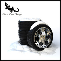 Snow tires set
