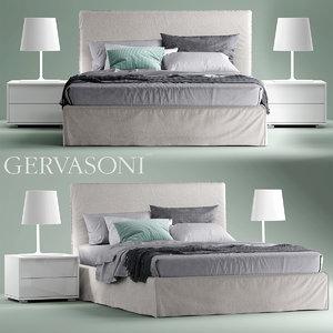 3d bett gervasoni ghost model