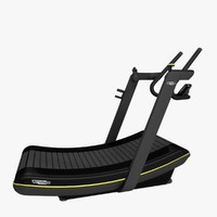 3d technogym skillmill cardio run
