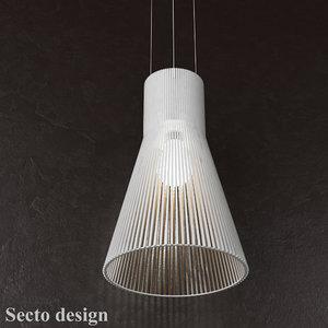 lamp magnum 4202 secto 3d model